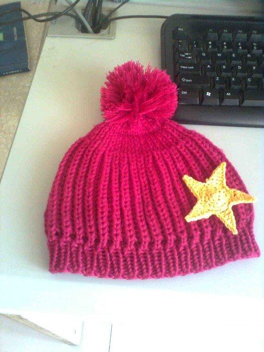 织的星星帽