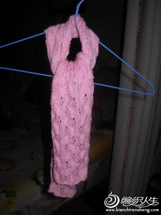 叶子花围巾4