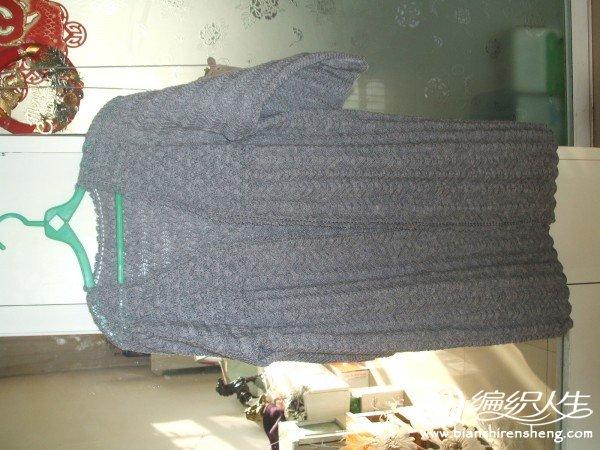 灰色大开衫