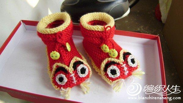 宝宝虎头鞋