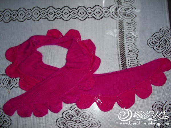 用一个星期终于仿成了叶玲珑围巾