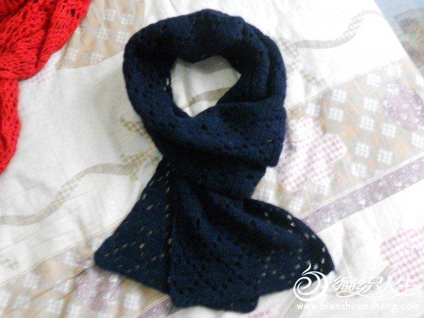 给老公的羊绒围巾,也是经典款式