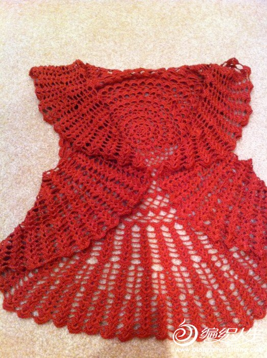 我的铁红锈桌布衣