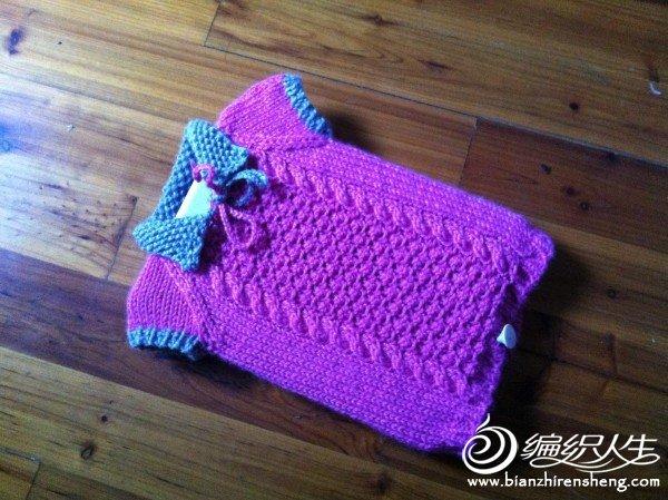 给女儿的毛衣