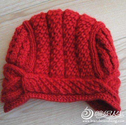 这款帽帽出自彩虹桥MM的编译,再次感谢了.