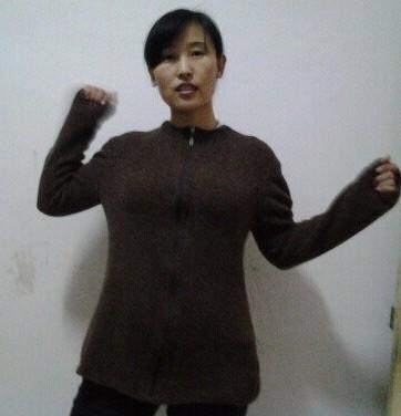 给婆婆织的毛衣