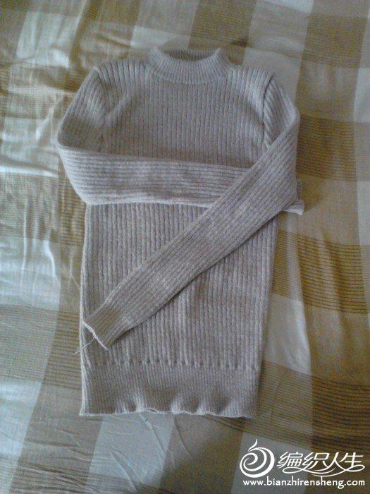 给妈妈织的衣衣