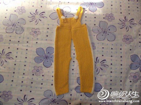 黄色纱线织的裤子.JPG