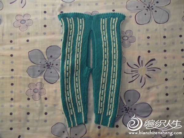 片织的裤子.JPG