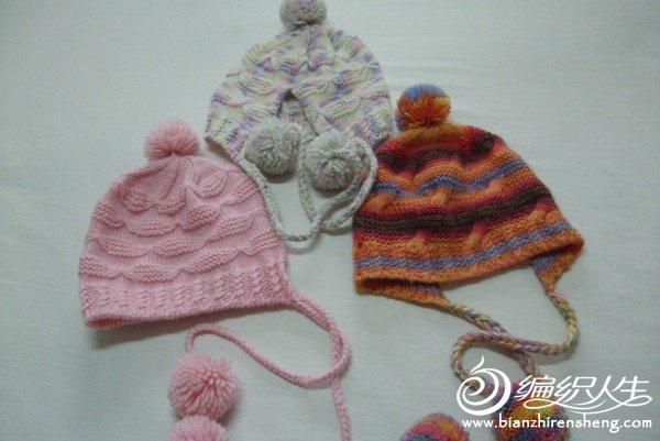 手工编织的帽子