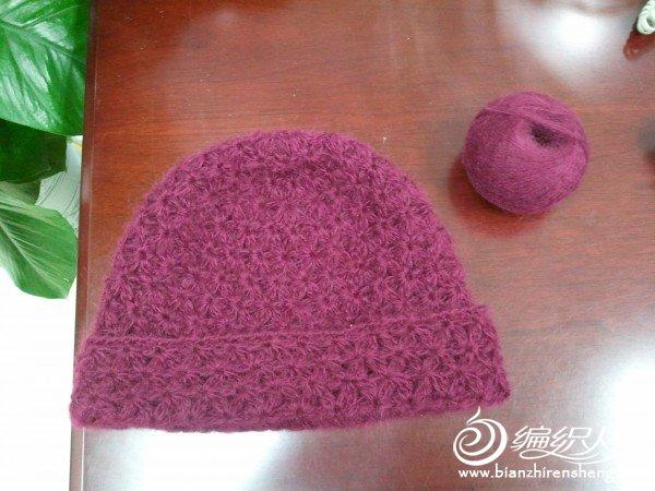 帽子成品图和剩下的线