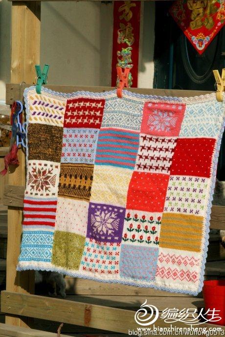 消灭旧毛线棒针毛线毯1.jpg