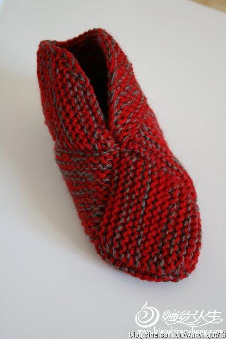 消灭旧毛线棒针毛线靴10.jpg