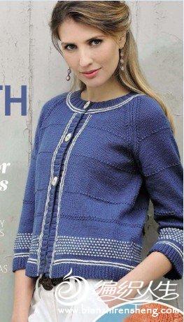 the knitter一期封面上的衣服