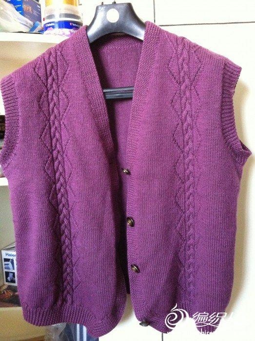 酱紫色男式马夹 004.jpg