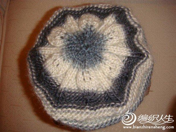 给婆婆织的。