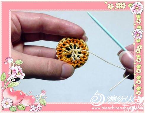 [实例教程] 手工编织纽扣( 有图解) - yn595959 - yn595959 彦妮