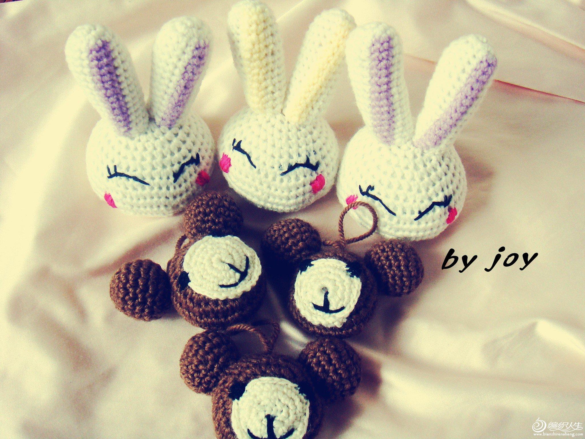 小熊兔子一家亲