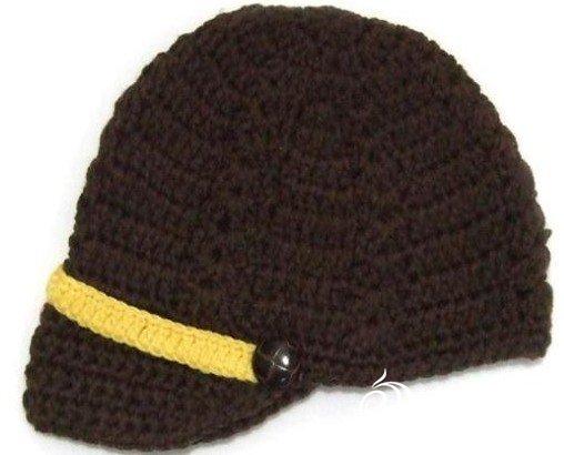 谁会这款帽子给个图解钩针