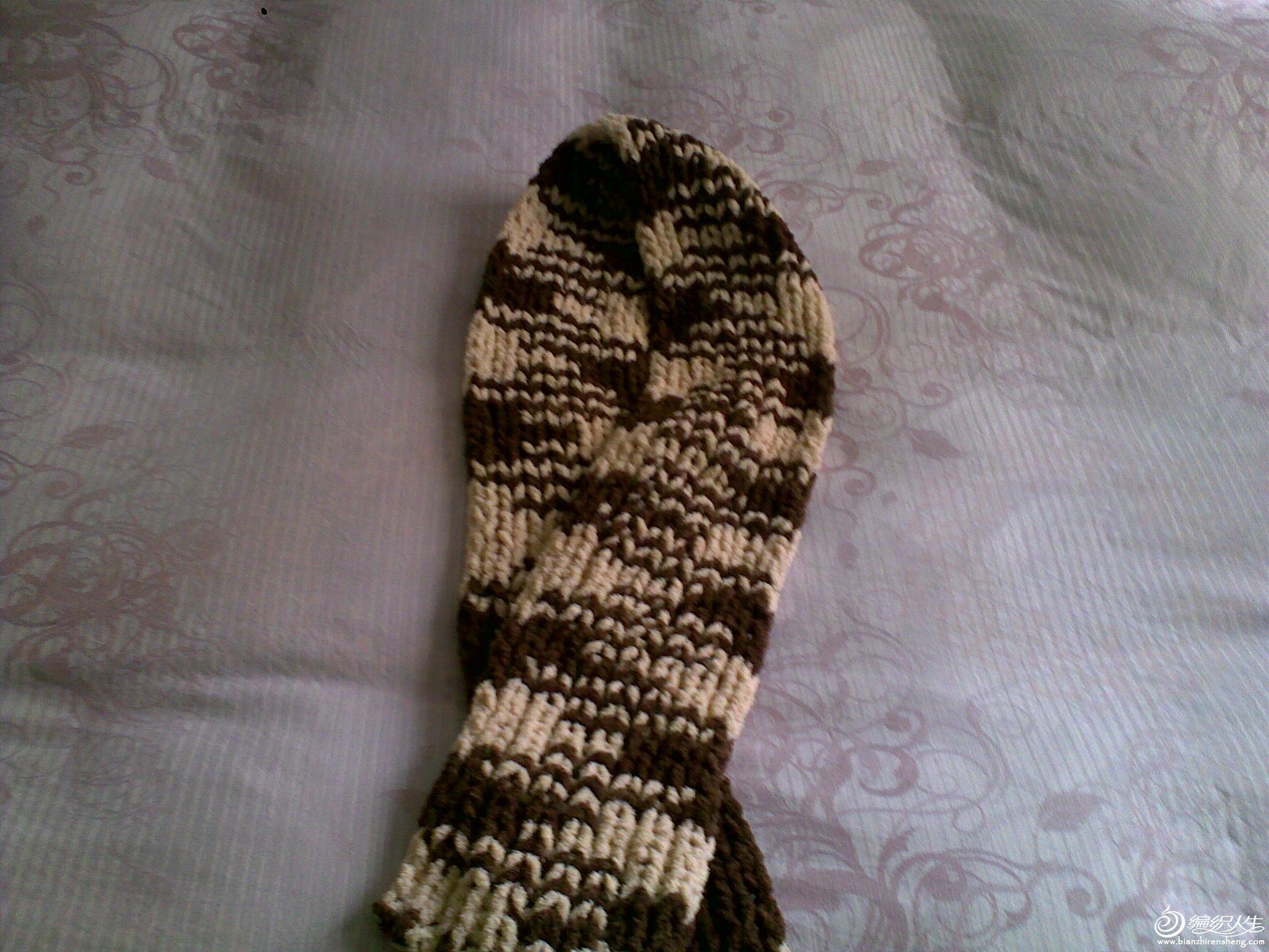 元宝针围巾