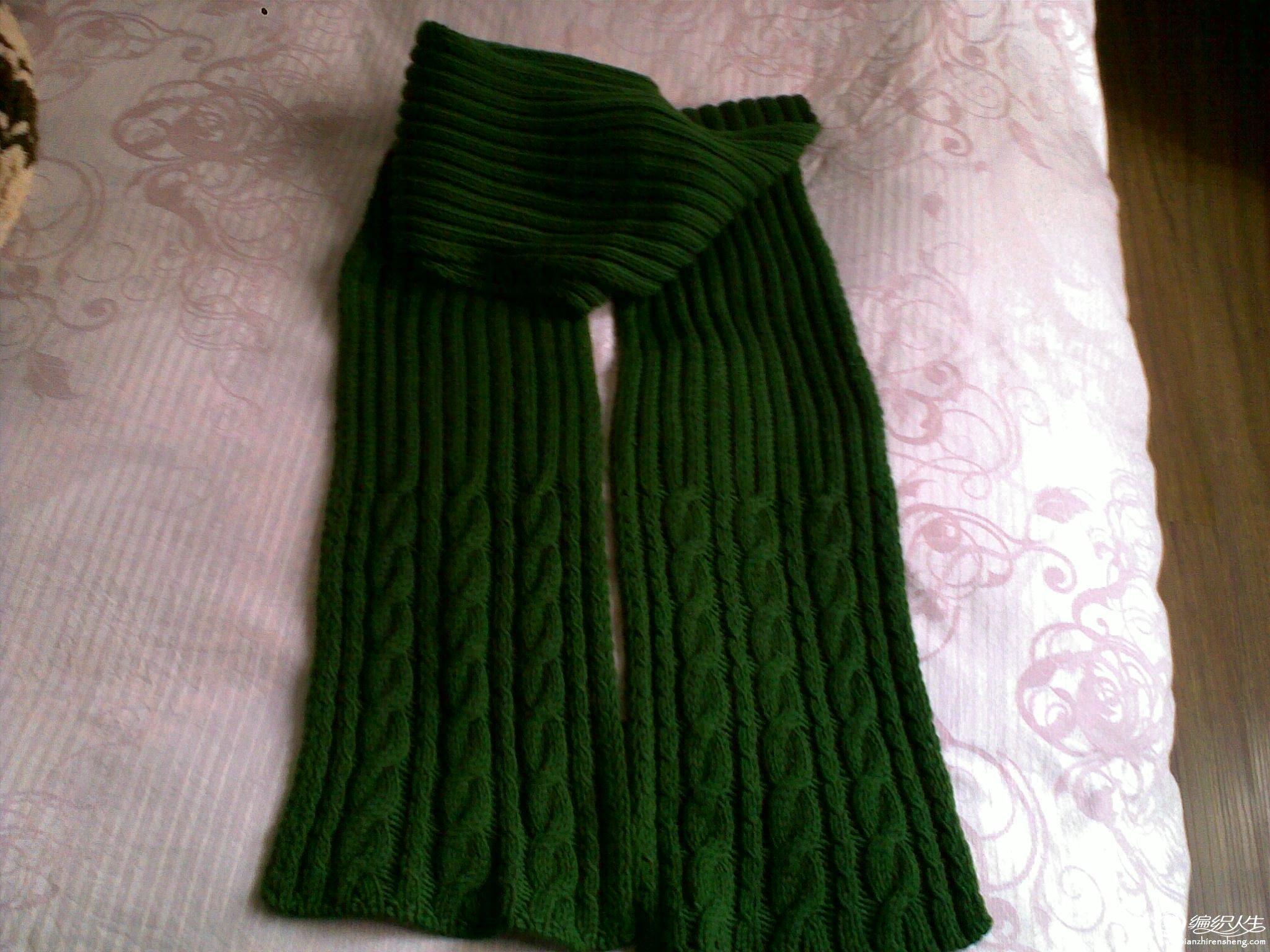 全毛毛线的围巾