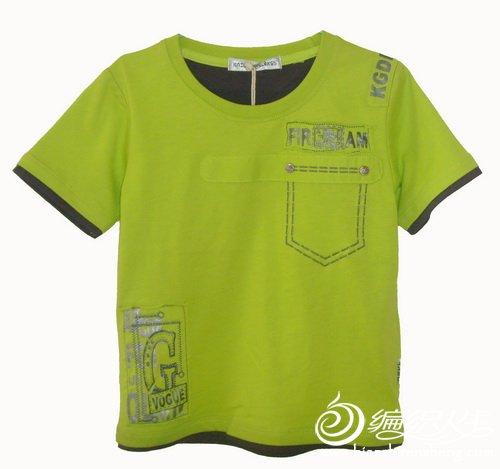 男大童T恤,绿.jpg