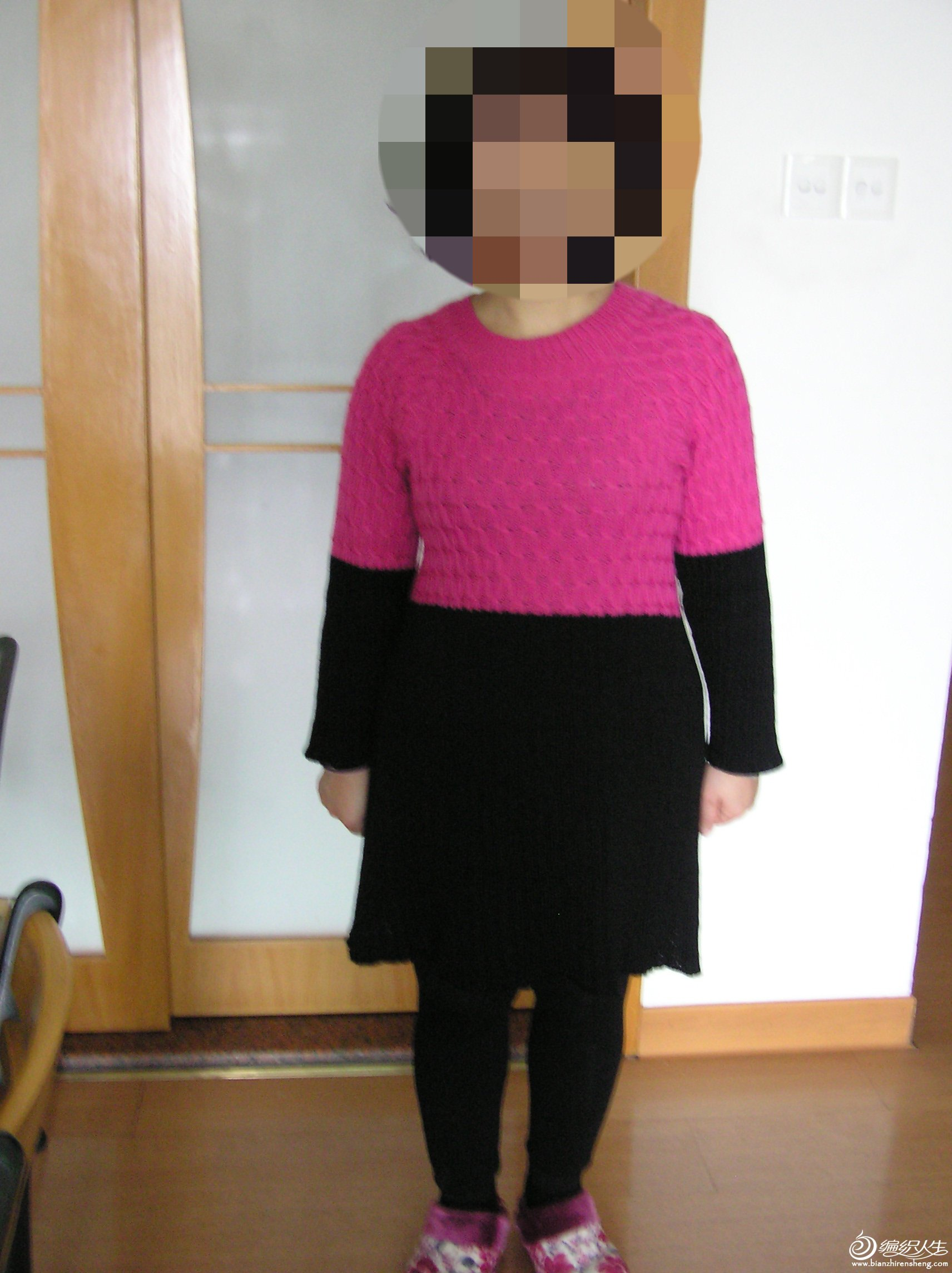 纪念:历时2年仿制走形的秋日私语毛衣2