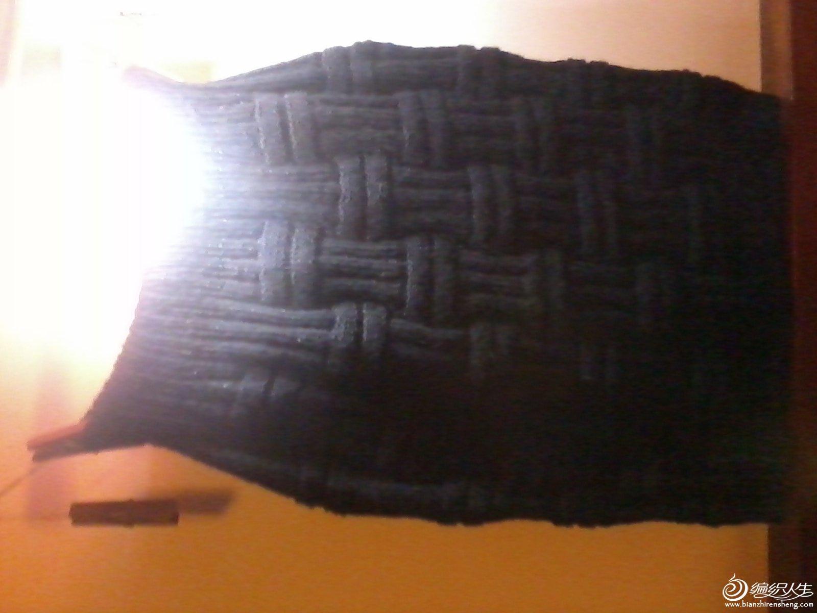 毛线包臀短裙2
