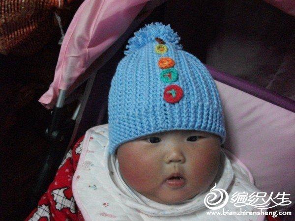 女儿的帽子