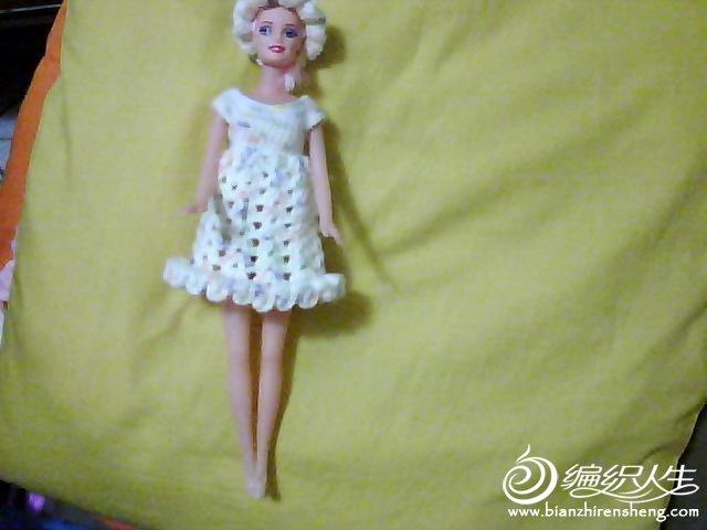 漂亮芭比娃娃的衣服