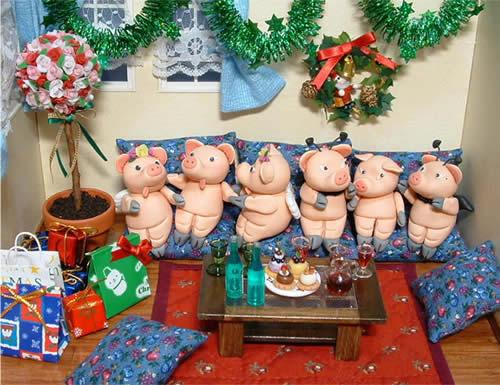 """""""猪""""圣诞快乐!.jpg"""