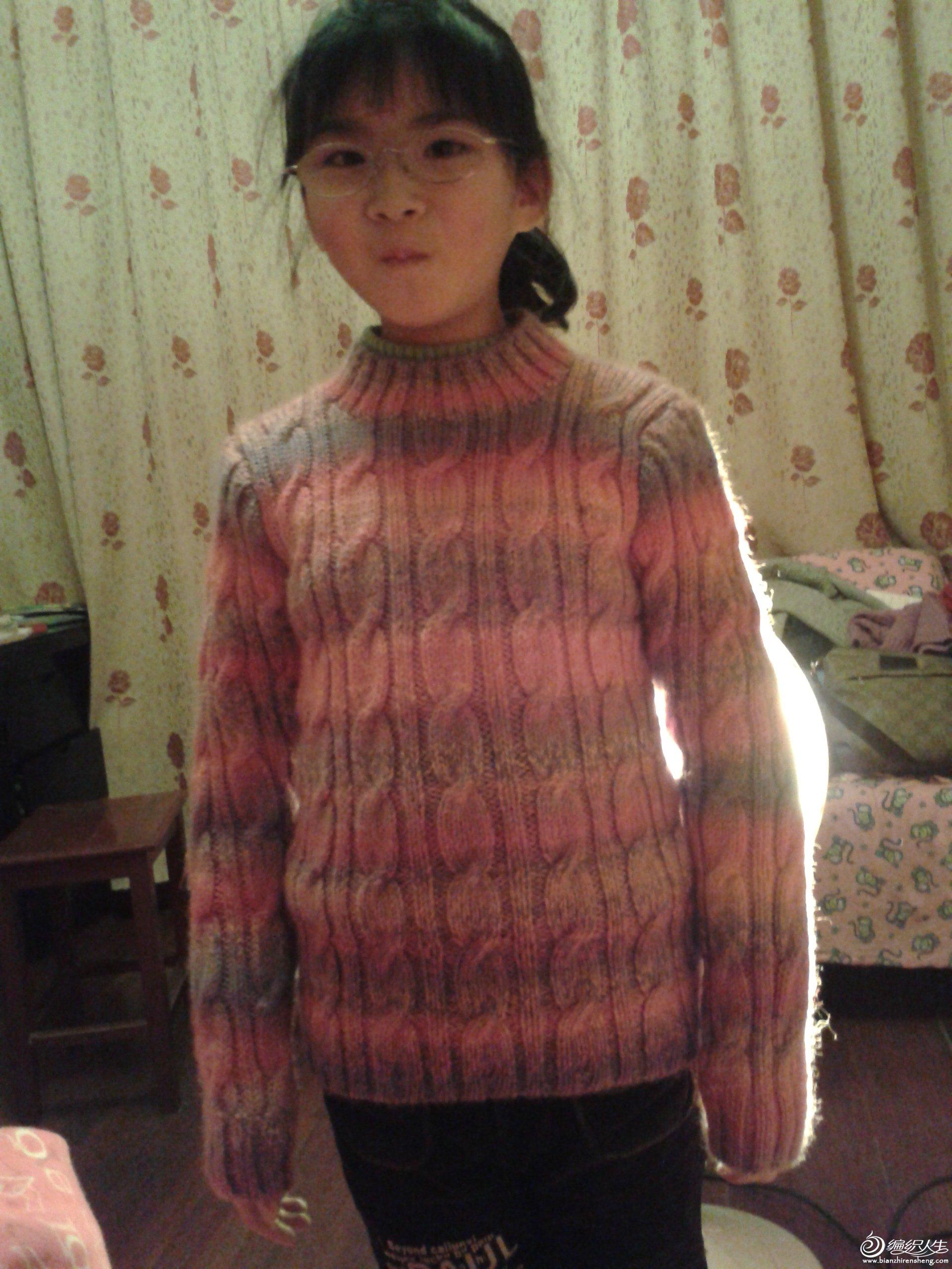 2012-03-11 女儿的段染毛衣3.jpg