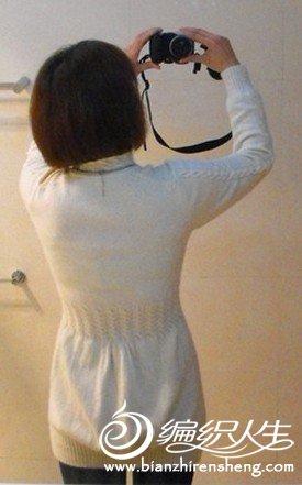 学织的第二件毛衣