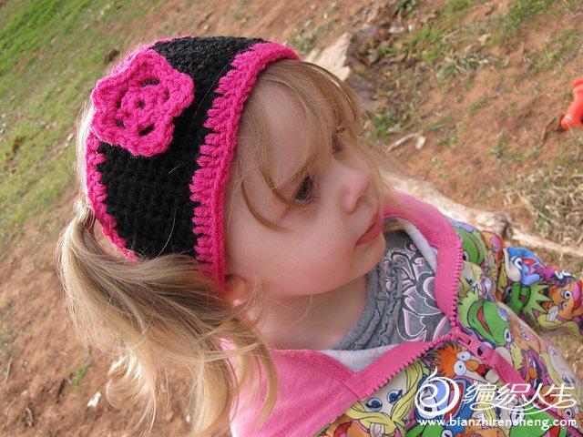 Little Girl\'s Ear Warmer.JPG