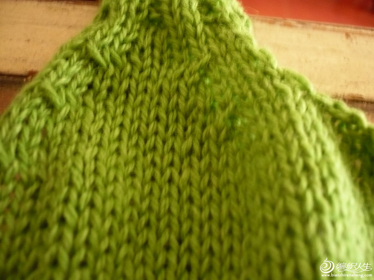 绿衣收针.JPG