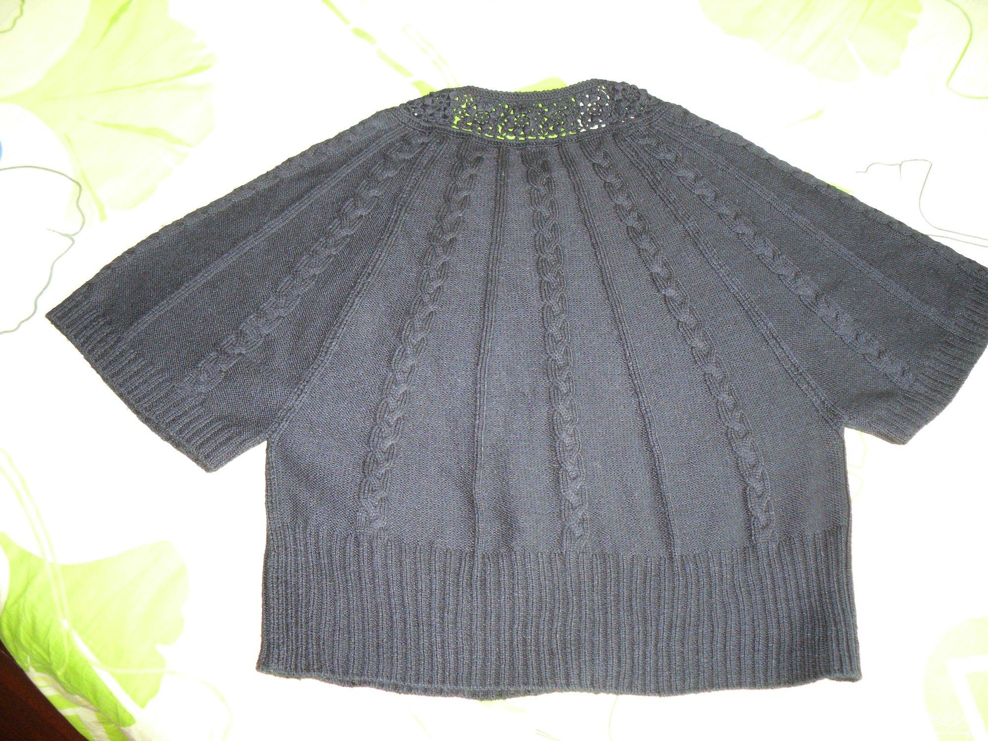 钩编组合七分中短袖开衫2.JPG