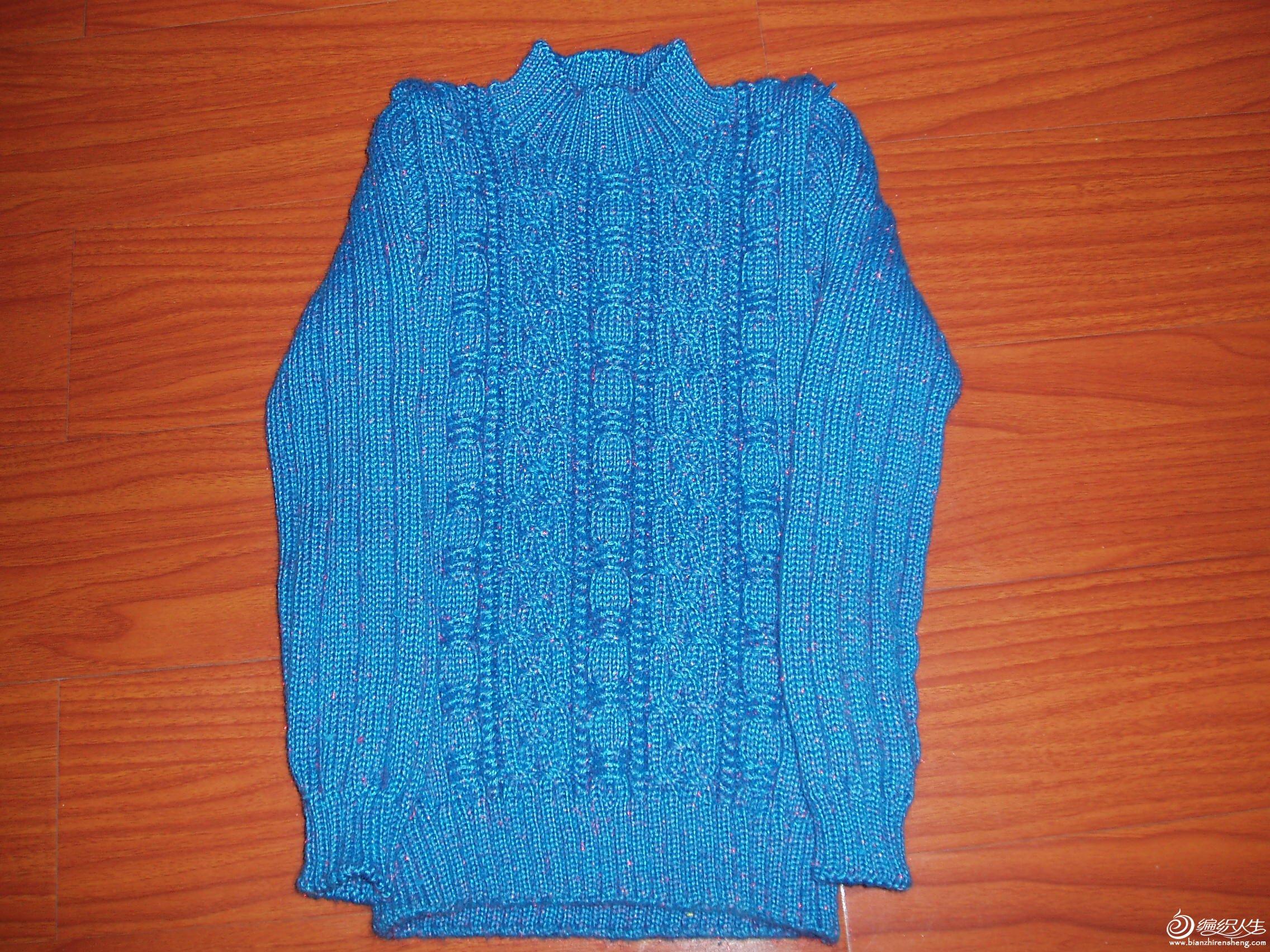 刚完工的儿童毛衣