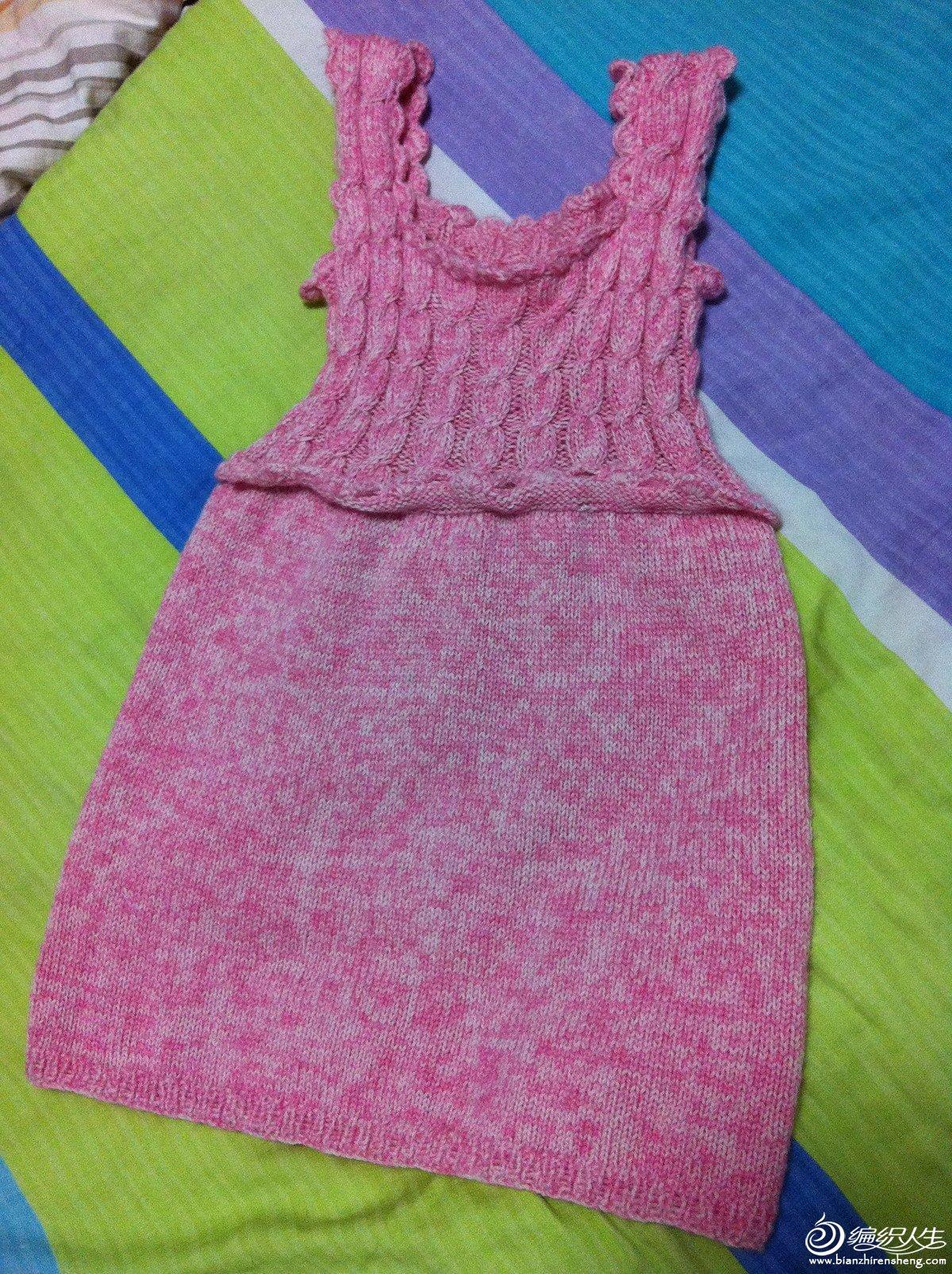 宝宝背心裙的图解 61  甜甜---女婴背心裙 61  2014夏季狂织宝贝