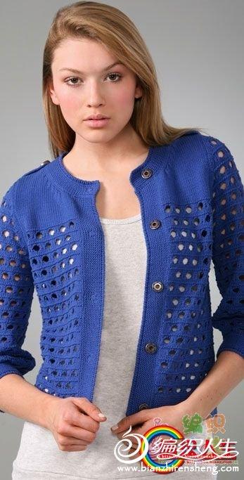 16405G606-38大洞蓝色小衫.jpg