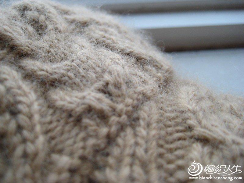 20%羊绒,绒感相当满意