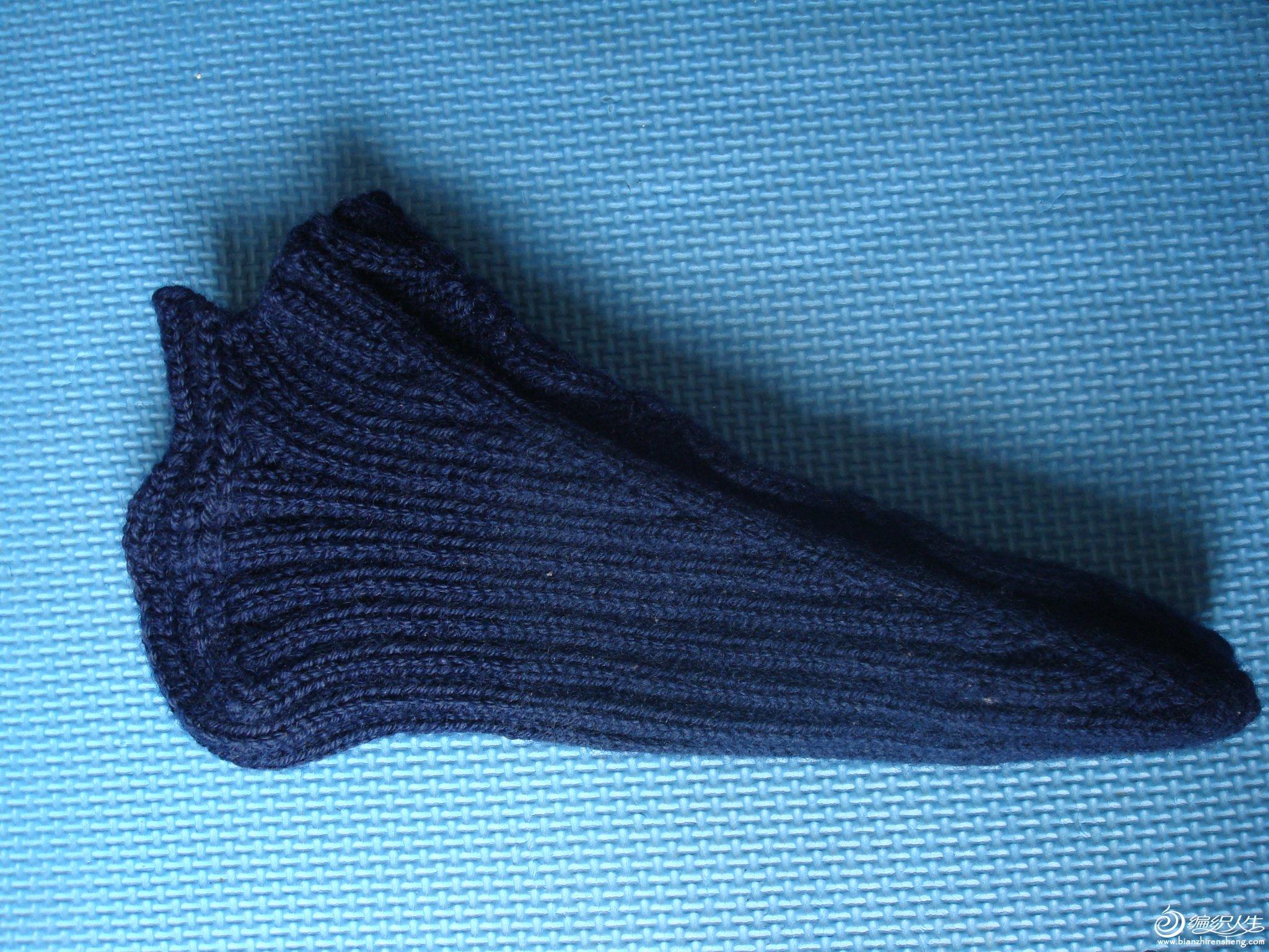 2000.10蓝色袜套   .JPG