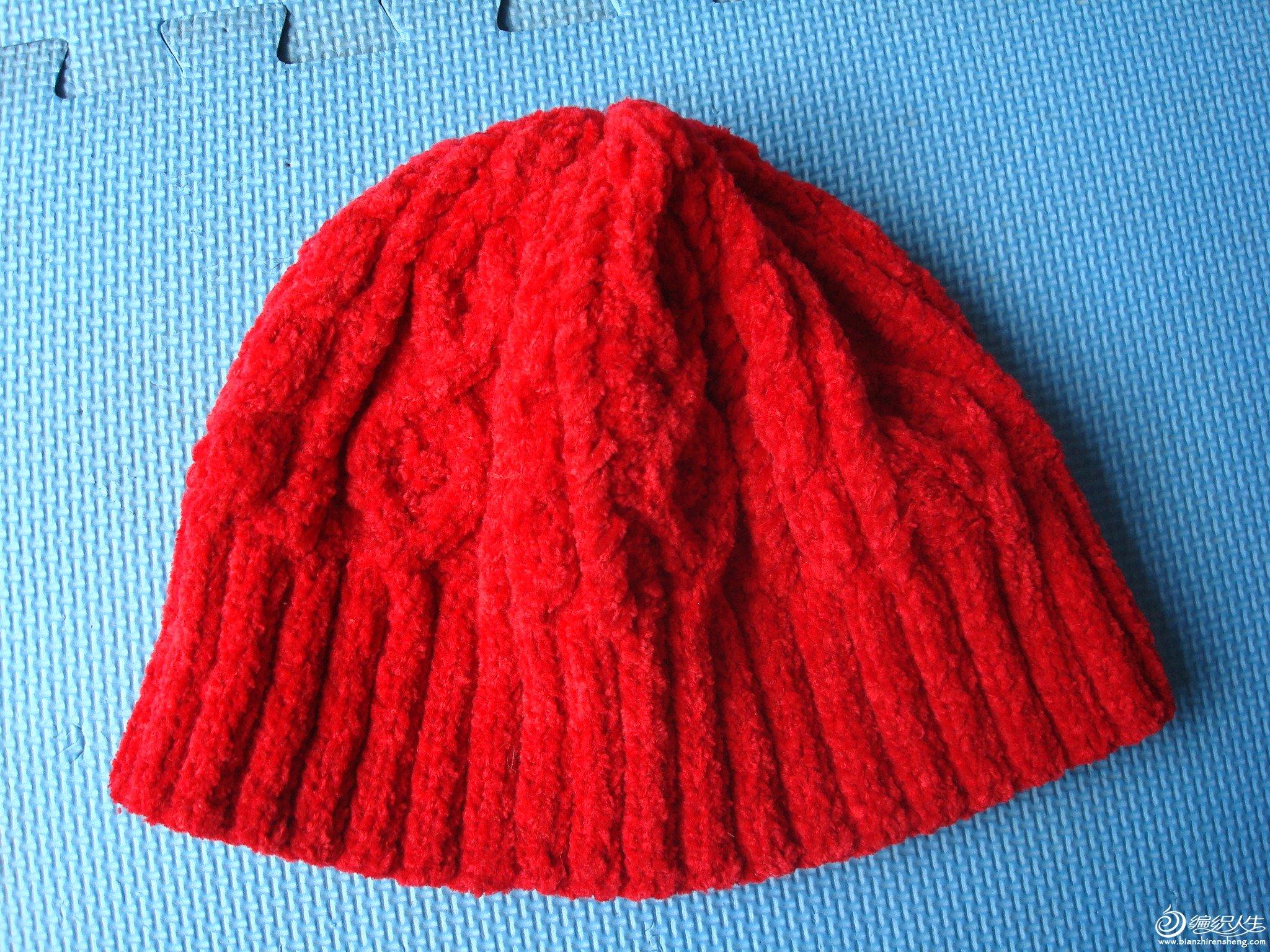 2006.5月红色帽子.JPG