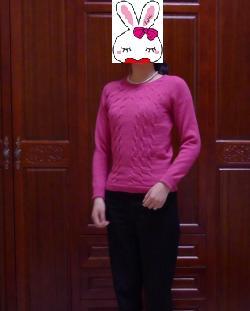 自认为挺漂亮的小毛衣