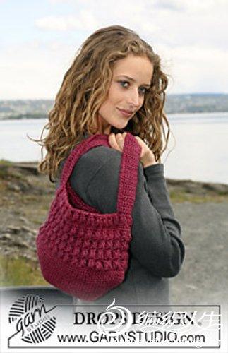 110-7 Crochet DROPS bag with Popcorn.jpg