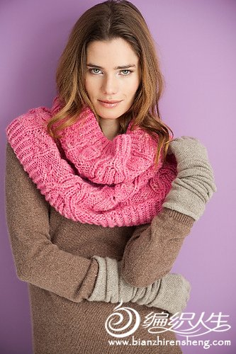 Cabled Cowl pink.jpg