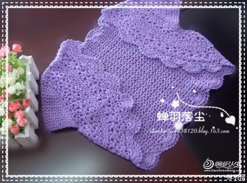 花紫--儿童小披肩