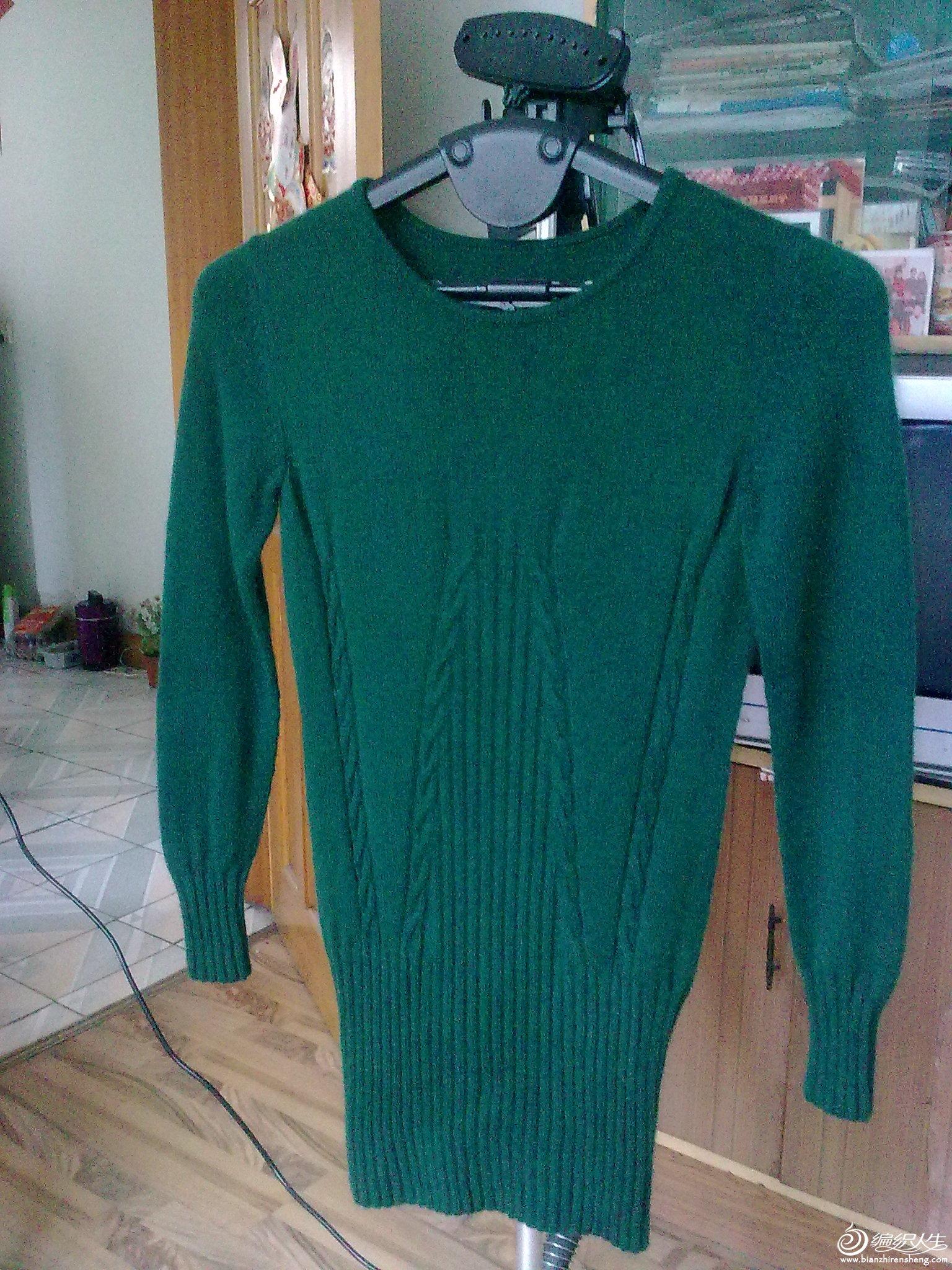 这件是仿巧手妈咪织的。