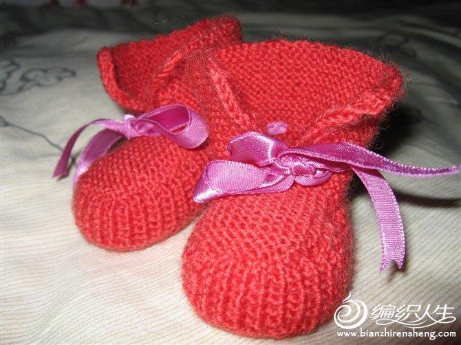 简单宝宝鞋的织法