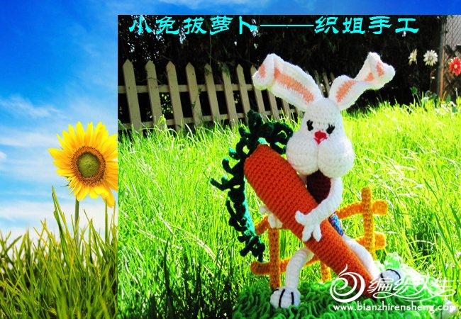 小兔拔萝卜——织姐手工 (3).jpg