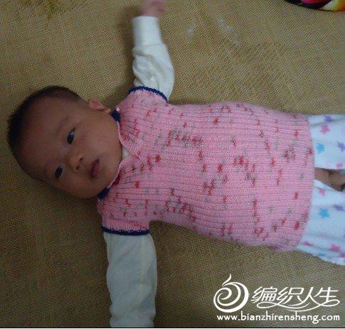 宝宝2个月了  穿了刚刚好  冬天肯定穿不了了
